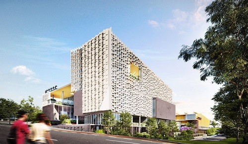 Artist impression for new Inner City South State Secondary College by BVN