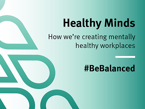 Creating mentally healthy workplaces